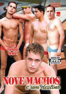 filme pornô Nove Machos e Um Destino